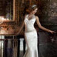 Wedding Dresses, Fashion, white, ivory, dress, Gown, Wedding, Bridal, Halter, Top, Size, 16, Atlanta, Davids, halter wedding dresses
