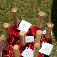 Favors & Gifts, red, silver, Favors
