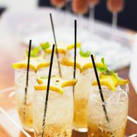 Reception, Flowers & Decor, orange, Cocktails