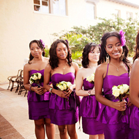 Ceremony, Flowers & Decor, purple, Bridesmaid, Bouquets, Crystal wicksell