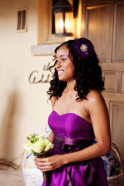 ivory, purple, Bouquet, Bridesmaid, Walk, Crystal wicksell