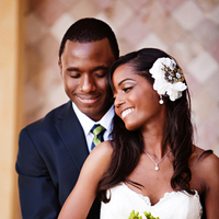 white, black, Bride, Bouquet, Groom, Portrait, Crystal wicksell
