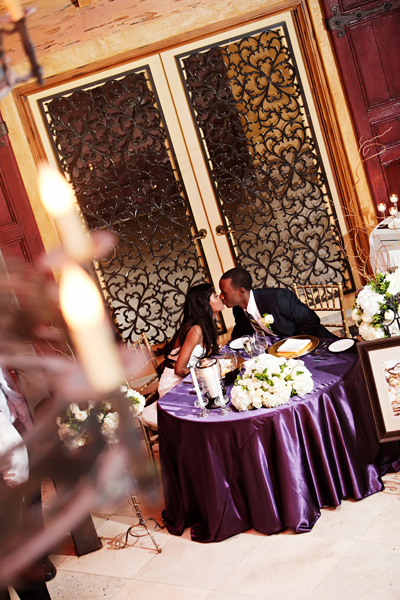 Reception, Flowers & Decor, purple, Bride, Groom, Table, Crystal wicksell