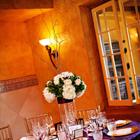 Reception, Flowers & Decor, purple, Flowers, Table, Crystal wicksell