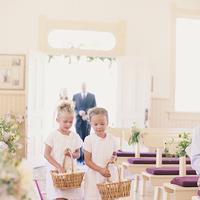 Ceremony, Flowers & Decor, white, Flower, Girls, Church, Petals, Aisle, Pews, Baskets, Kiki dan