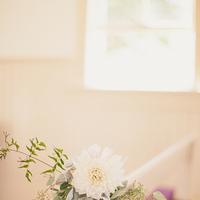 Ceremony, Flowers & Decor, white, green, Church, Pew, Florals, Kiki dan