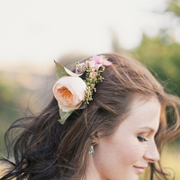 Beauty, Flowers & Decor, pink, brown, Flower, Hair, Wind, Kiki dan