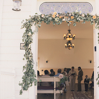Ceremony, Flowers & Decor, Bride, Groom, Vows, Couple, Officiant, Garland, Kiki dan