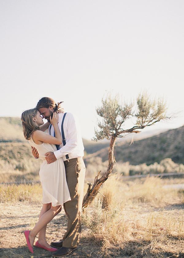 Kiss, Couple, Newlyweds, Campground, Kiki dan