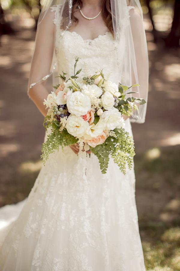 Wedding Dresses, Veils, Fashion, white, pink, green, dress, Bouquet, Veil, Gown, Wedding, Danielle cody