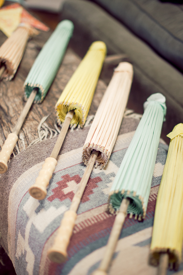 yellow, pink, blue, Wedding, Umbrellas, Pastels, Parasols, Danielle cody