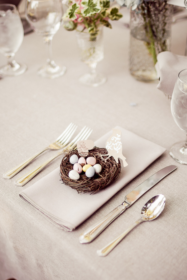 Reception, Flowers & Decor, Wedding, Table, Birds, Chocolate, Setting, Eggs, Danielle cody
