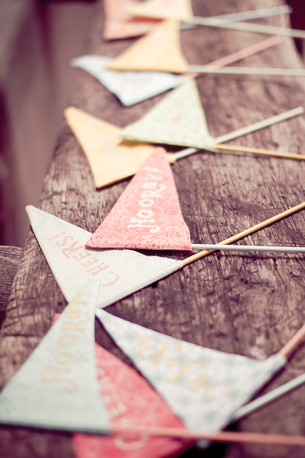DIY, yellow, Wedding, Ideas, Flags, Danielle cody