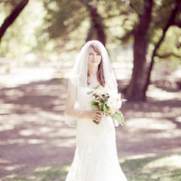 Wedding Dresses, Veils, Fashion, white, dress, Bride, Bouquet, Veil, Gown, Danielle cody