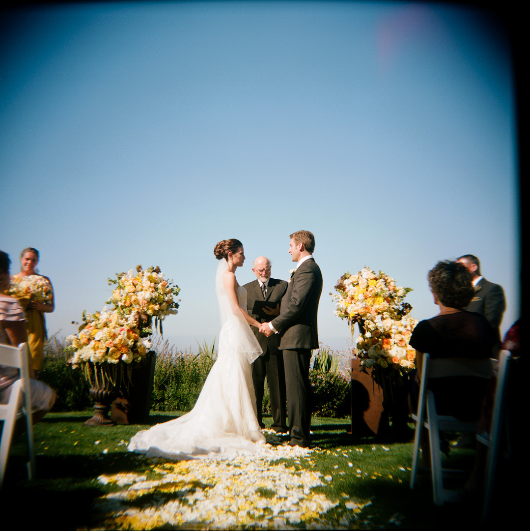 Ceremony, Flowers & Decor, white, yellow, Bride, Groom, Petals, Aisle, Ashley mark