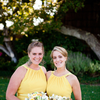 Bridesmaids, Bridesmaids Dresses, Fashion, white, yellow, pink, green, Dresses, Bouquets, Ashley mark