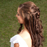 Beauty, Hair, Bridal, Downstyle