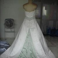 Wedding Dresses, Fashion, white, green, dress