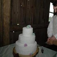 Reception, Flowers & Decor, Cakes, cake, Rustic, Rustic Wedding Flowers & Decor, Cutting