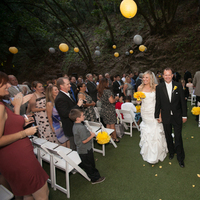 Ceremony, Flowers & Decor, yellow, silver