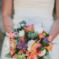 Flowers & Decor, white, pink, Flowers, Roses, Bouquets, Coral, Rachel craig