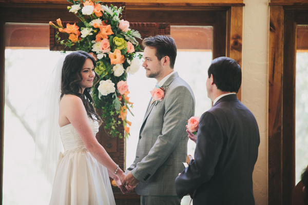 Ceremony, Flowers & Decor, green, Florals, Coral, Rachel craig