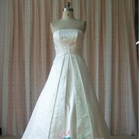 Wedding Dresses, Fashion, white, ivory, dress, Wedding, Bridal, Embroidery, A, Chapel, Length, Line, Judys, Judysbridal, Slipt