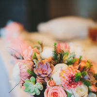 Beauty, Feathers, Bouquet, Centerpiece, Rose, Rachel craig