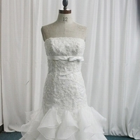 Wedding Dresses, Fashion, white, ivory, dress, Wedding, Bridal, Embroidery, A, Chapel, Length, Line, Judys, Judysbridal, Slipt