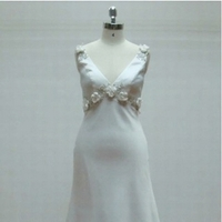 Wedding Dresses, Fashion, white, dress, Wedding, Bridal, Evening, V, Neck, Judys, Judysbridal