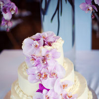 Cakes, Destinations, pink, purple, cake, Beach, Destination, Orchids, Cascade, Navy, Preppy, Kristin broen