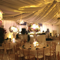 Reception, Flowers & Decor, white, silver