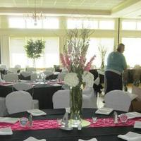 Reception, Flowers & Decor, pink, black, Table, Runner, Cloth, Fuschia