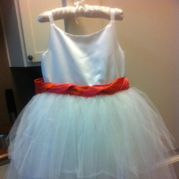 Wedding Dresses, Fashion, white, orange, gold, dress