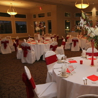 Reception, Flowers & Decor, white, red, silver, Tables & Seating, Inspiration board, Tables