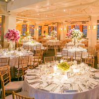 Reception, Flowers & Decor, gold, Centerpieces, Tall, Crystal, Hydrangeas, Chandeliers, Skylight, Shera dan, Shera daniel