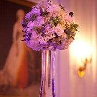 Reception, Flowers & Decor, Decor, Centerpieces, Centerpiece, Vase, Glass