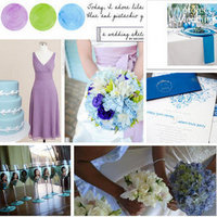 purple, blue, Inspiration board