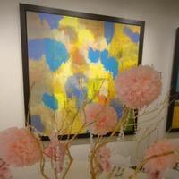 Reception, Flowers & Decor, pink, Centerpieces, Flowers, Centerpiece, Branches, Branch, Arrangement, Manzanita