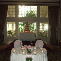 Reception, Flowers & Decor, pink, silver, Sweet, Table, Heart