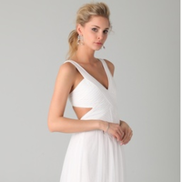 Wedding Dresses, Beach Wedding Dresses, Fashion, white, dress, Beach, Wedding, Casual