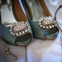Shoes, Fashion, green, Teal