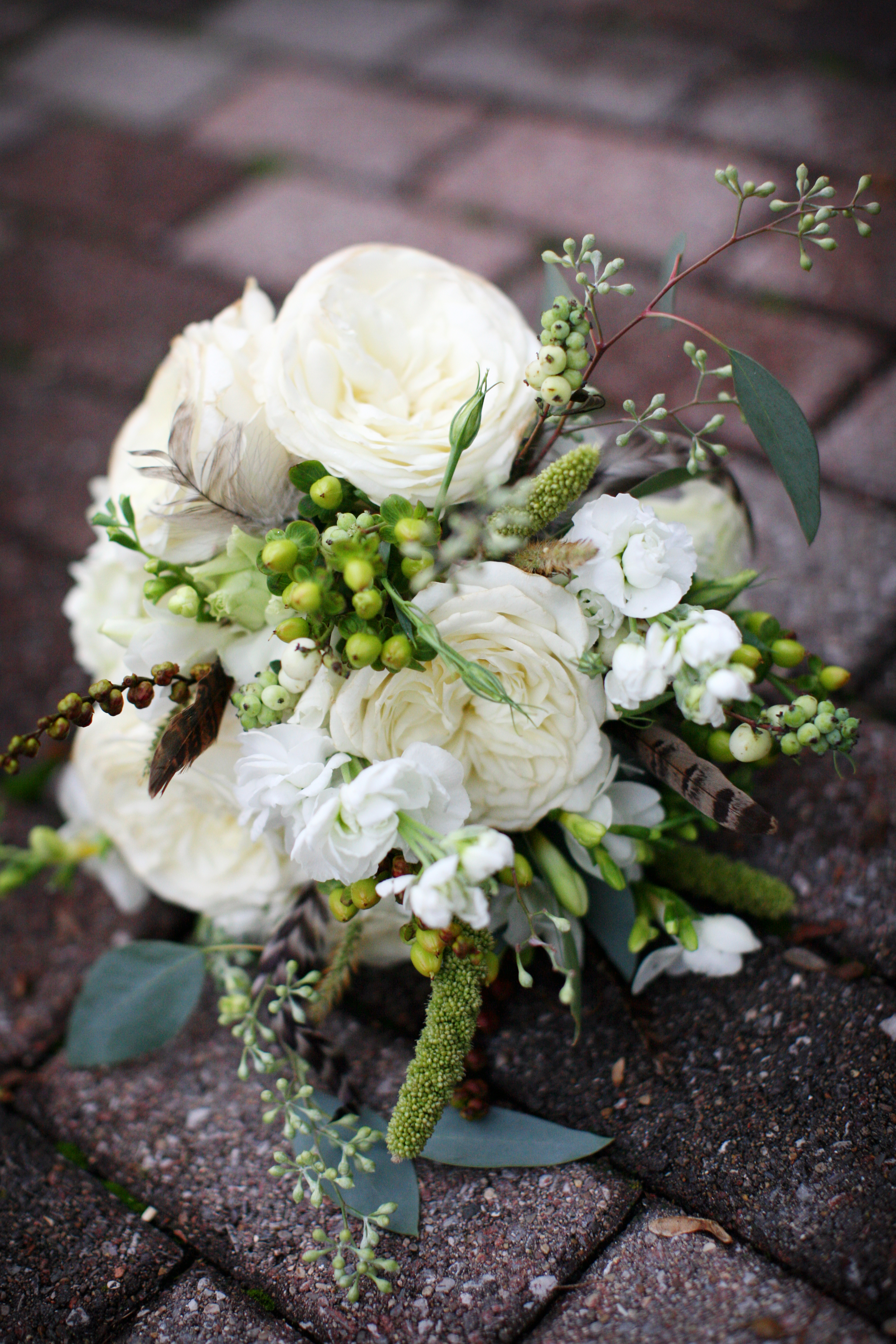 ivory, green, brown, Fall, Vintage, Rustic, Bouquets, Autumn, Natural, Whimsy, Woodland, Courtney sawyer
