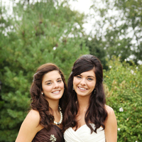 ivory, brown, Rustic, Bride, Bridesmaid, Courtney sawyer