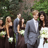 brown, Fall, Rustic, Wedding, Party, Courtney sawyer