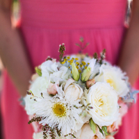 Flowers & Decor, white, yellow, pink, Garden, Roses, Bouquet, Daisy, Cream, Jeanne johnhan