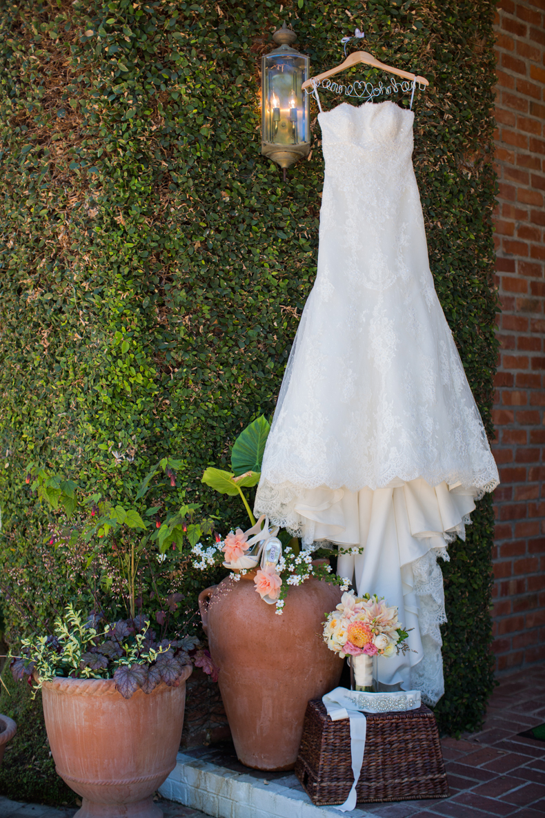 white, Bouquet, Lace, Pronovias, Fit, Flare, Hanger, N, Jeanne johnhan
