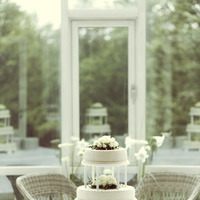 Cakes, white, cake, Wedding