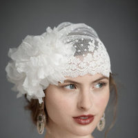 Beauty, Ceremony, Flowers & Decor, white, Makeup, Hair, Lace, Hat, Cap
