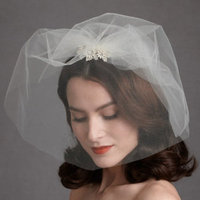 Beauty, Ceremony, Flowers & Decor, Veils, Fashion, white, Makeup, Veil, Hair, Crystal